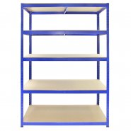 10189 TRax 120cm wide 60cm Deep Shelving Front View