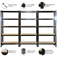 75cm black rack attributions