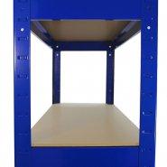 75cm blue rack side shelf