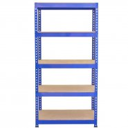 7001 blue racking viewed from front