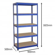 7001 blue racking with dimensions