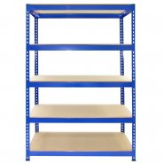 7002 Q-Rax 120cm Wide Blue Garage Racking Front View