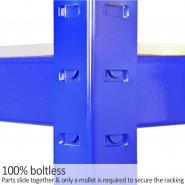 75cm blue rack t-rax