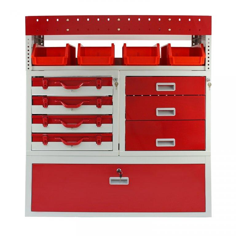 van shelving & racking firecracker van storage | monster racking