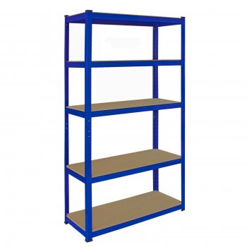 7008 90cm Blue Garage Shelving Corner