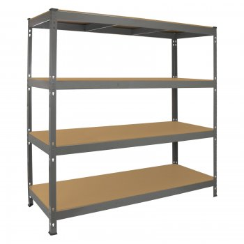 Monster Racking Q-Rax Heavy Duty Storage Shelving, 160cm W, 60cm