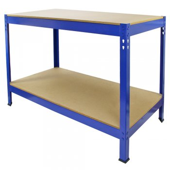 7003 Blue Monster Racking Garage Workbench Front Right