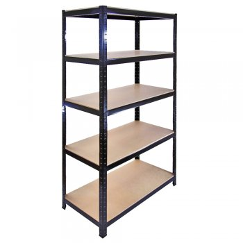 T-Rax Black Racking Storage Bay - 90cm Wide