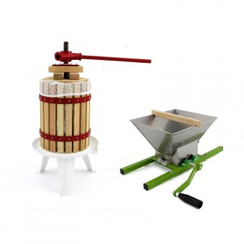 KuKoo Fruit Crusher& 12 Litre Fruit Press