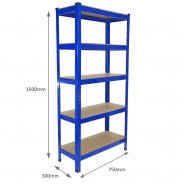 75cm blue rack measurements