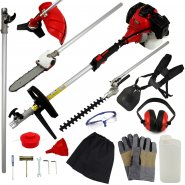 T-Mech 5 in 1 Multi Tool Petrol Powered Garden Strimmer M