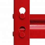 Z-Rax Red 90cm Heavy Duty Shelving Unit Joint
