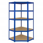 T-Rax Blue Corner Racking Bay - 90cm Wide
