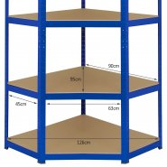 20005 T-Rax Corner Bundle Racking Unit Dimensions