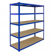 T-Rax Extra Wide & Deep Blue Storage Bay - 160cm Wide