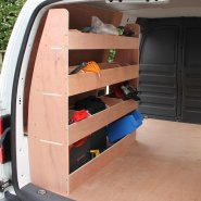 20003 VW Caddy Van Shelving M