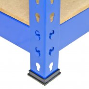 7001 blue racking close up moulded rubber feet