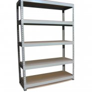 Q-Rax Grey Racking Storage Bays -  120cm Wide