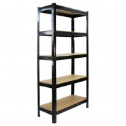 T-Rax Black Shelving Storage Bay - 75cm Wide