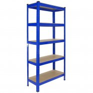 T-Rax Blue Shelving Storage Bay - 75cm Wide