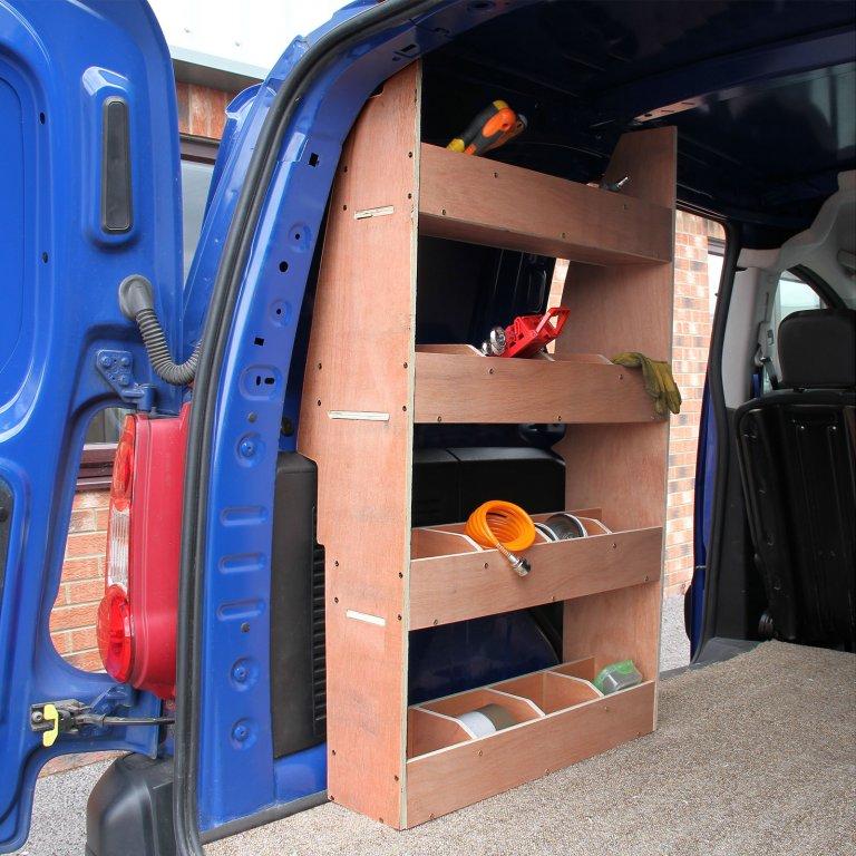 Citroen Berlingo Ii Swb Ply Van Racking