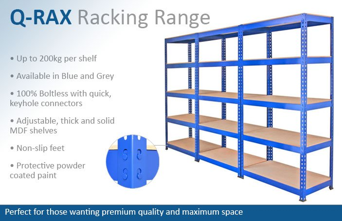 Q-Rax Garage Racking Shelving