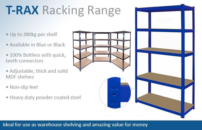 T-Rax Garage Racking Shelving
