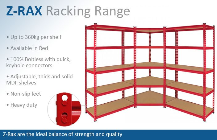 Z-Rax Garage Racking Shelving